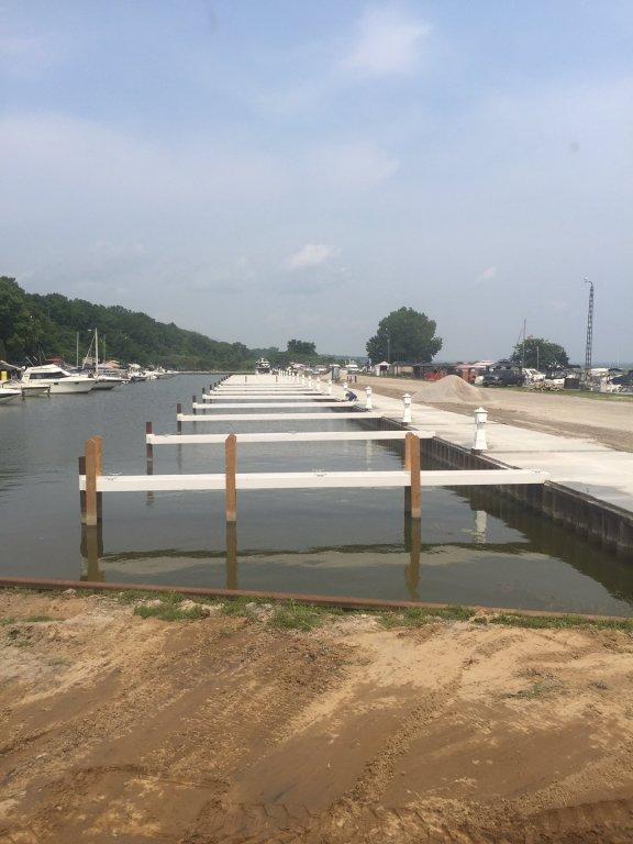 New Docks and Seawall